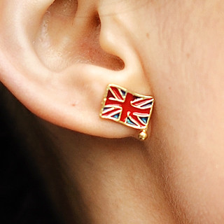 59 Seconds - Union Jack Earrings