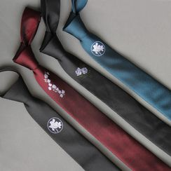 Puddingbird - Embroidery Neck Tie