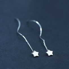 JVL - Star Threader Earrings