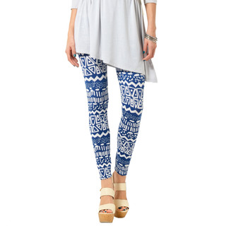 59 Seconds - Bohemian Print Leggings