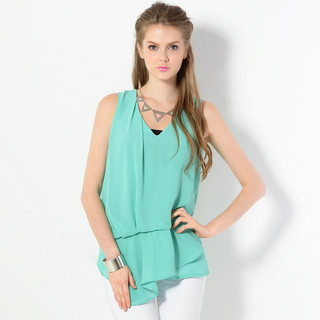 59 Seconds - Sleeveless V-Neck Top