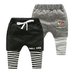 WellKids - Kids Inset Leggings Shorts