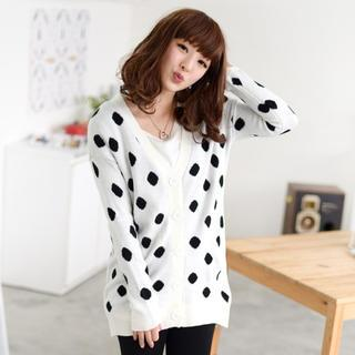 59 Seconds - Polka Dot Cardigan