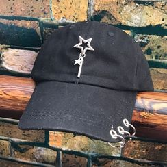Hats 'n' Tales - Ring Detail Baseball Cap