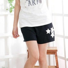 RingBear - Star Appliqué Cotton Shorts