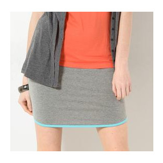 59 Seconds - Contrast Trim Pencil Skirt