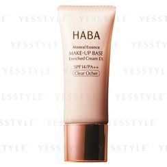 HABA - Mineral Essence Make-Up BASE Enriched Cream EX SPH 14 PA++